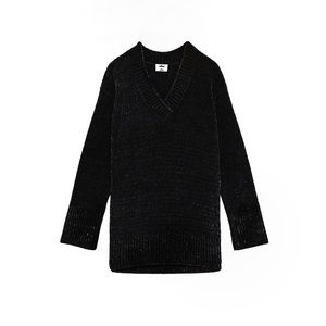 Aritzia Wilfred Black Violetta Sweater